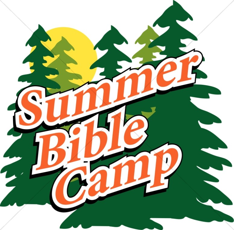Barbecue clipart youth. Christian summer camp trees