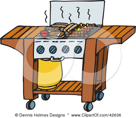 illustration of steaks. Barbecue clipart youth