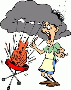 A paleo friendly bbq. Barbecue clipart youth