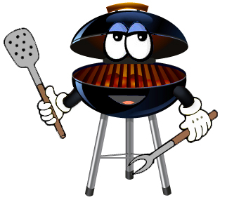 Barbecue clipart youth. Fundraiser bbq barbecuegrillcartoon