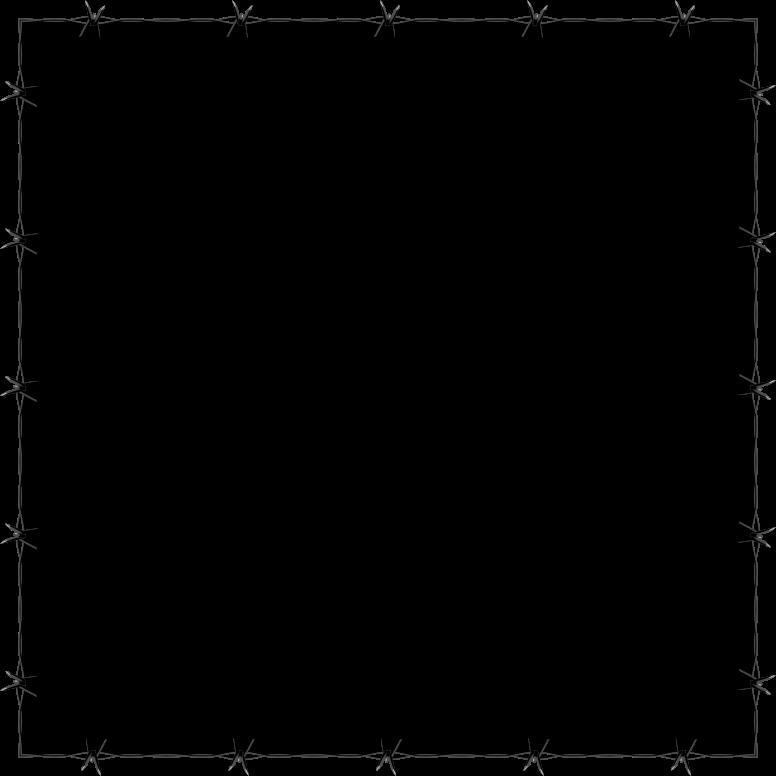 Border transparent images. Barbed wire frame png