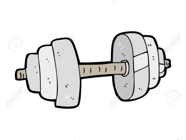 Free download clip art. Dumbbells clipart animated