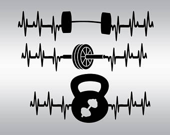 Barbell clipart barbell crossfit. Weights svg gym fitness