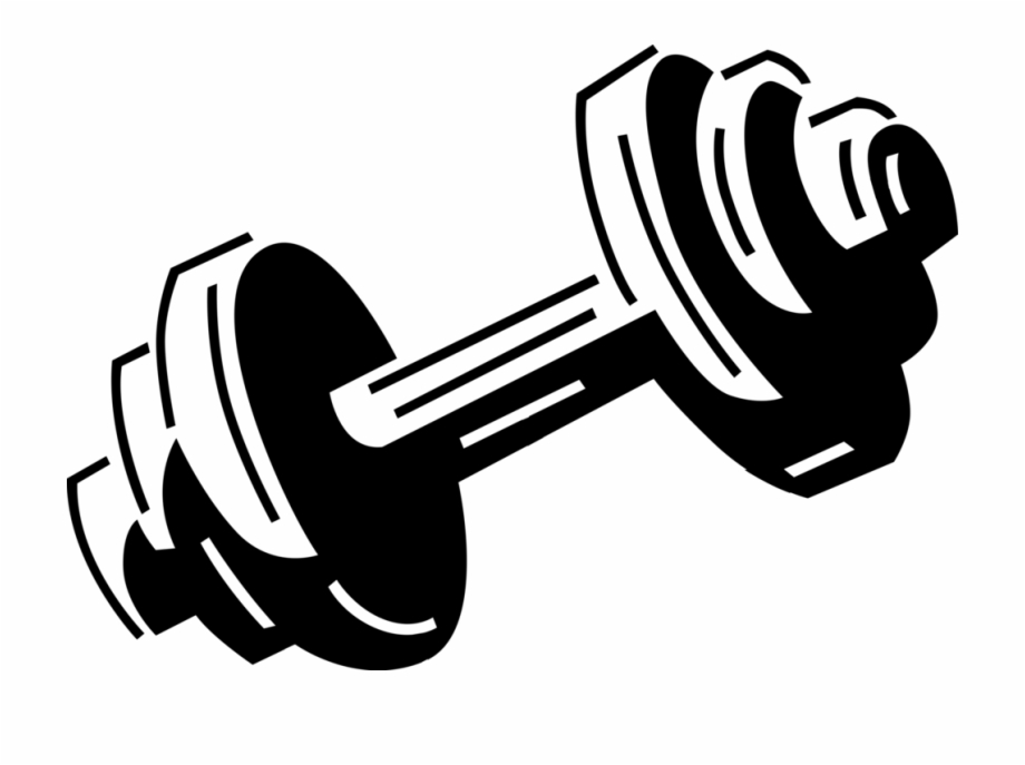 Dumbbells clipart wieght. Bodybuilding weights and dumbells