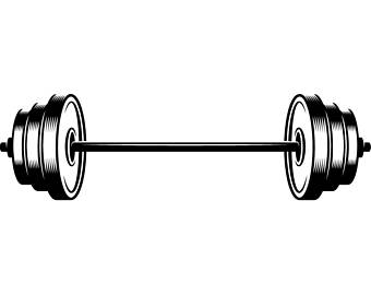 barbell clipart barbell weight