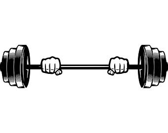 collection of lifting. Barbell clipart barbell weight