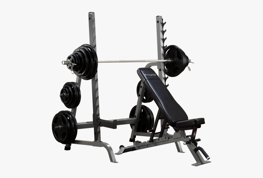 Dumbbells clipart bench press bar. Weight rack with
