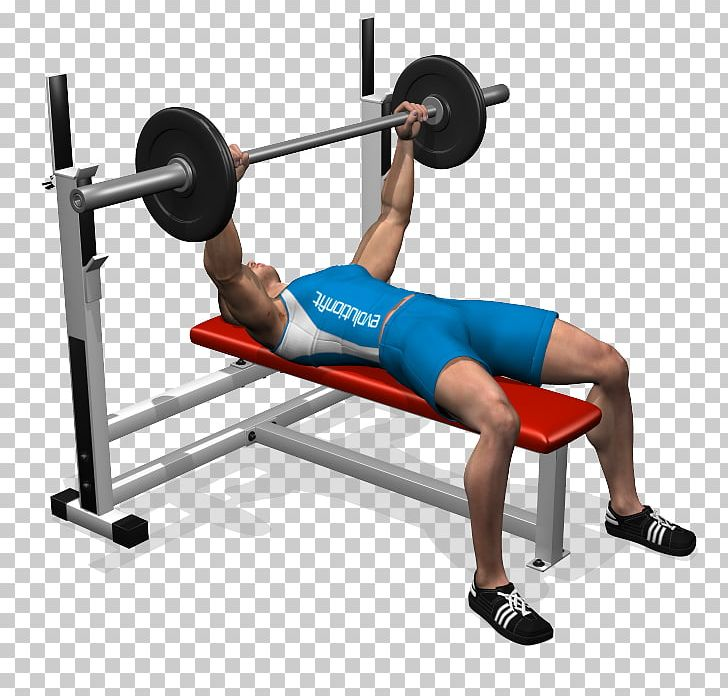 Dumbbell clipart bench press bar. Barbell exercise fly png