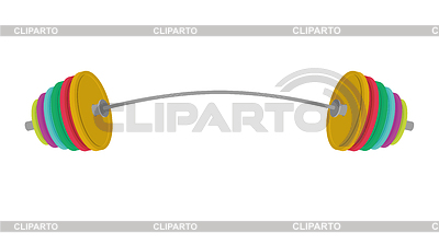 Barbell clipart bent. Weights stock photos and