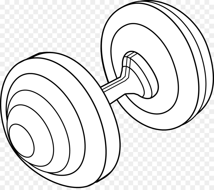 Weight training clip art. Barbell clipart black and white