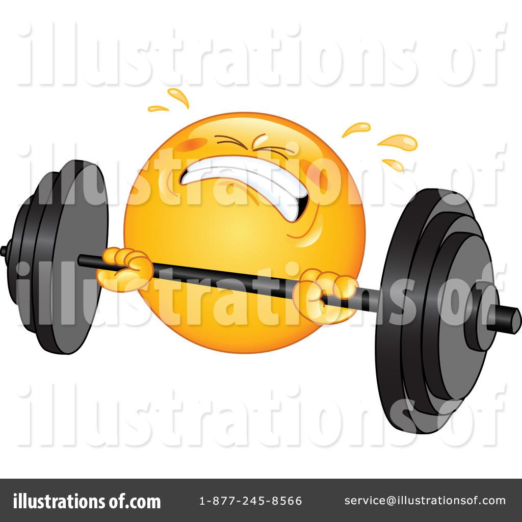 Barbell clipart bodybuilding. Illustration by yayayoyo royaltyfree