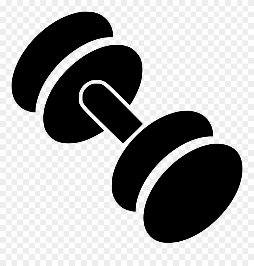 Dumbbell weights cartoon transparent. Dumbbells clipart free weight