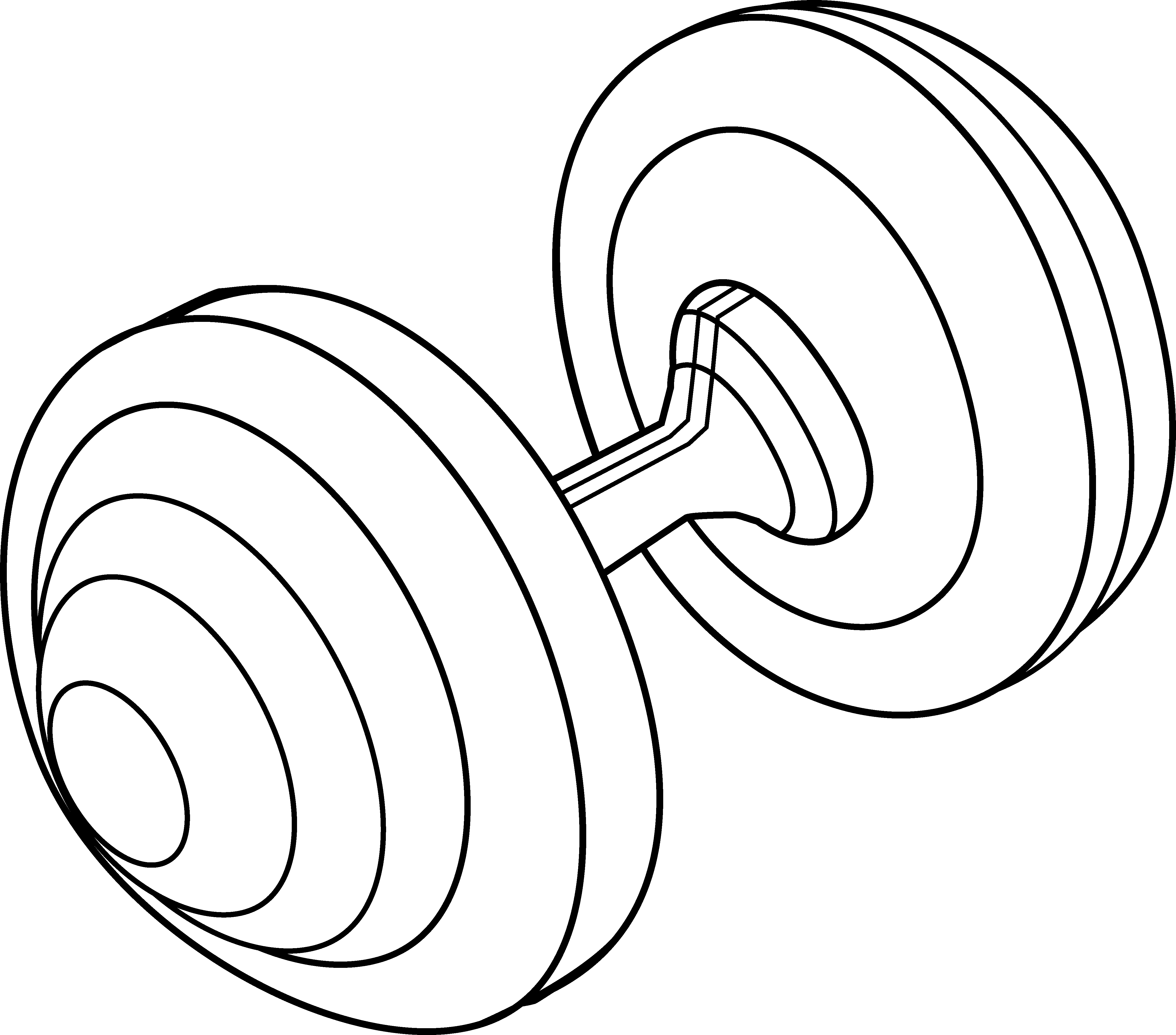Exercise clipart line art. Barbell weight free clip