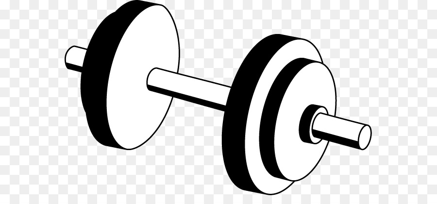 Dumbbell weight training olympic. Barbell clipart clip art