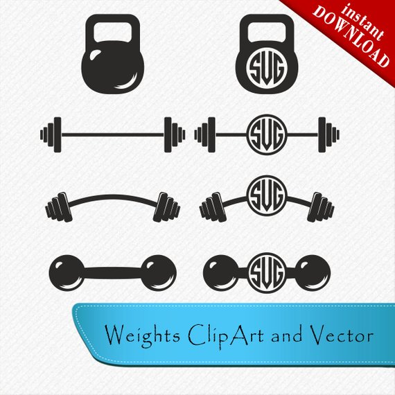 Barbell clipart cross. Barbel svg silhouette fit