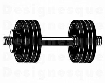Dumbbell etsy . Dumbbells clipart health fitness
