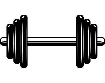 Weightlifting png etsy dumbbell. Barbell clipart dumble
