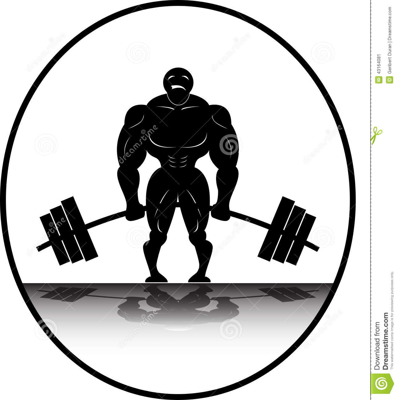 Collection of free download. Barbell clipart powerlifting