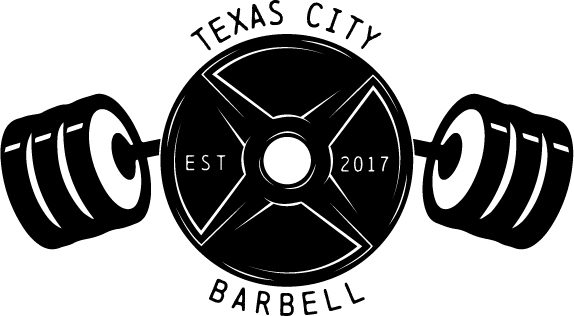 Barbell clipart powerlifting. Texas city