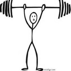 Wars fought for the. Barbell clipart stick figure