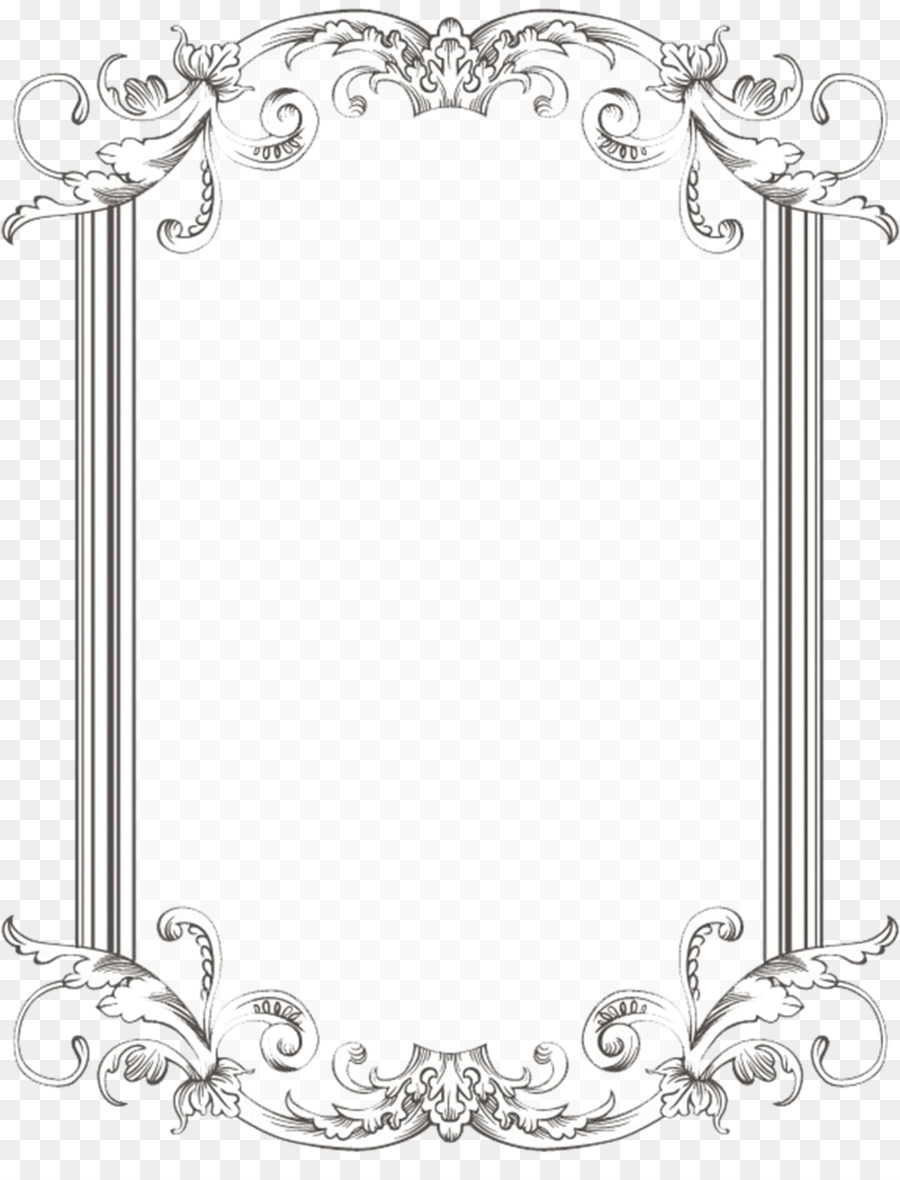 Borders and frames picture. Broccoli clipart border