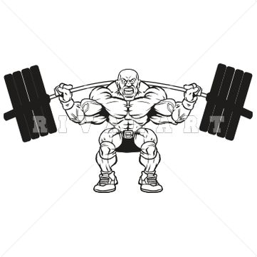 best weight lifting. Muscles clipart weightlifting