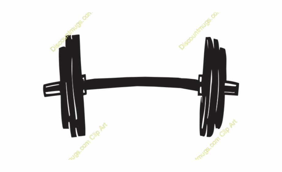 Plate weight lifting transparent. Barbell clipart wieght