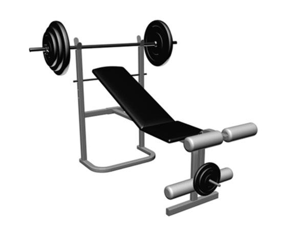Gym clipart gym bench. Equipment