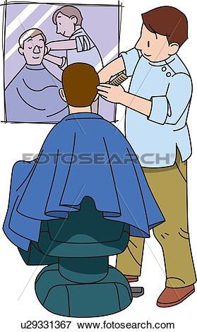 Station . Barber clipart
