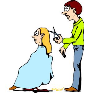 Barber clipart. Hair