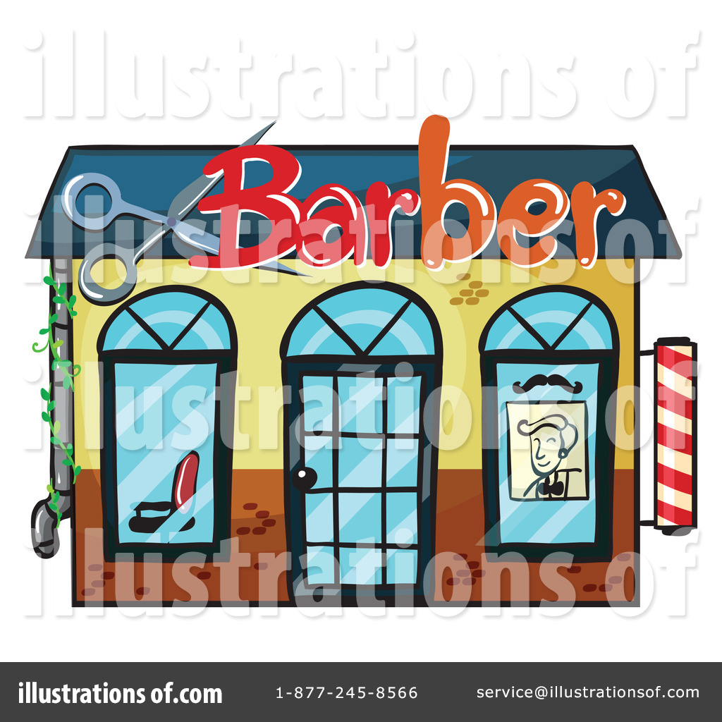 Barber clipart. Shop illustration by graphics