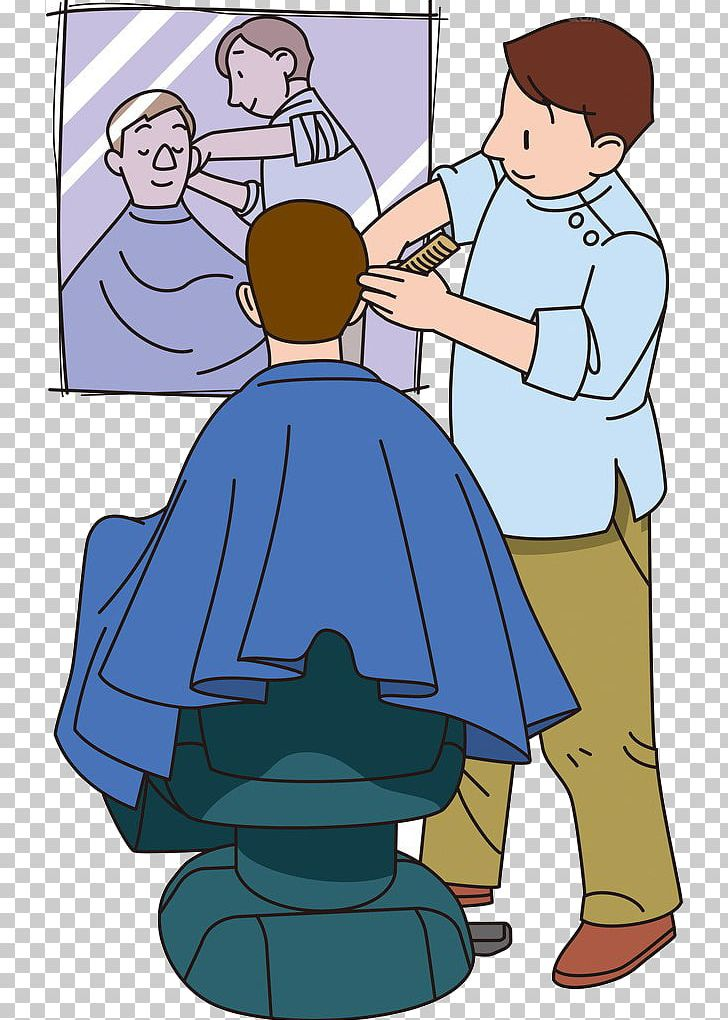 Png boy cartoon character. Barber clipart animated
