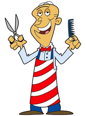 Shop men s hairdessing. Barber clipart baber