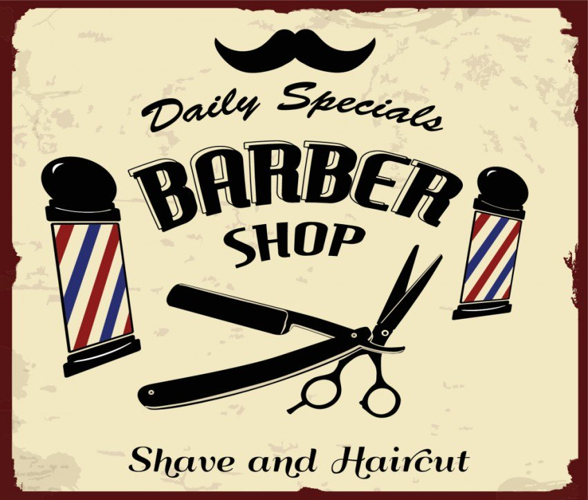 Barber clipart baber.  local marketing lessons