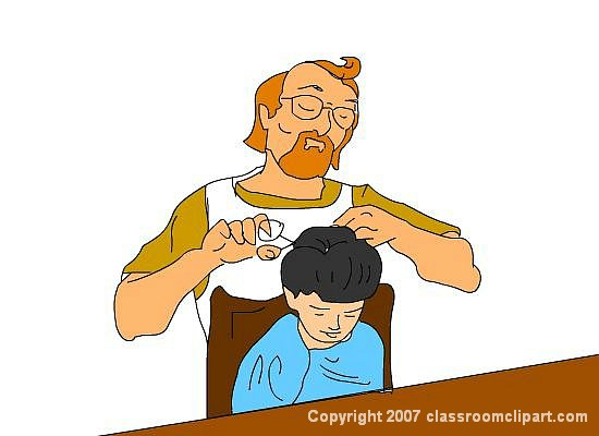 Station. Barber clipart baber
