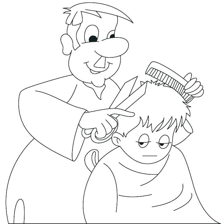 Barber clipart community helper. Helpers coloring pages redsearadio