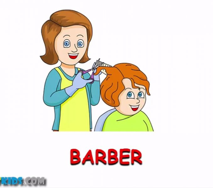Barber clipart community helper. Pictures of helpers for