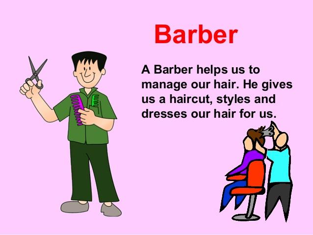 Helpers . Barber clipart community helper
