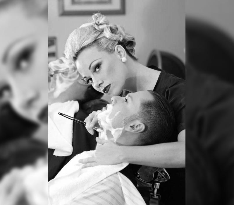 Barber clipart female barber. Mister chop shop barbers