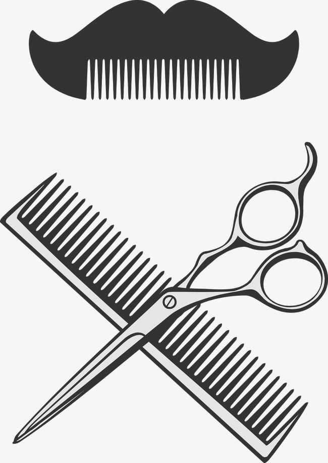 Barber clipart instruments. Tools png vectors psd