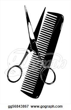 Barber clipart instruments. Tools
