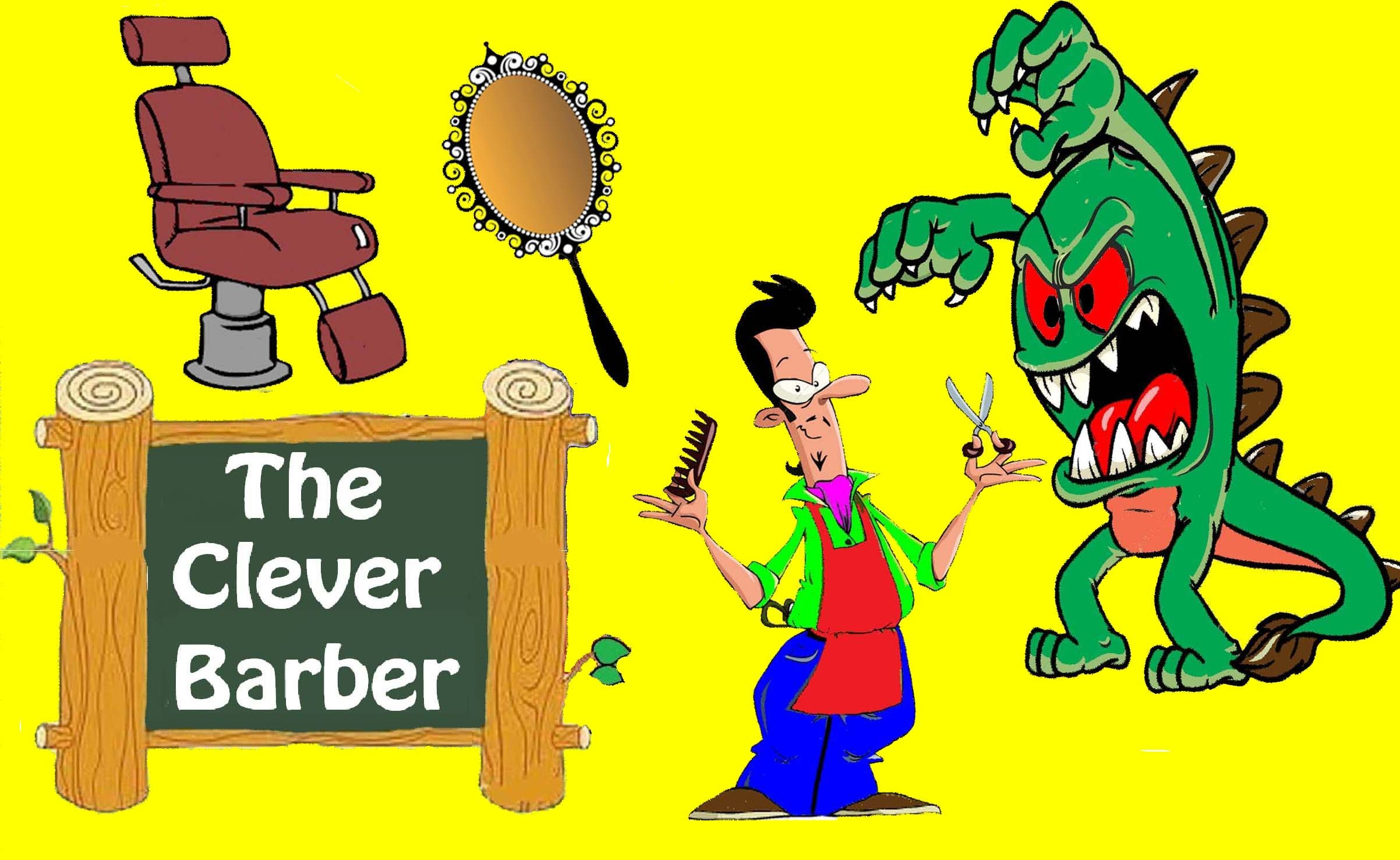 Barber clipart kid. The clever bedtime stories