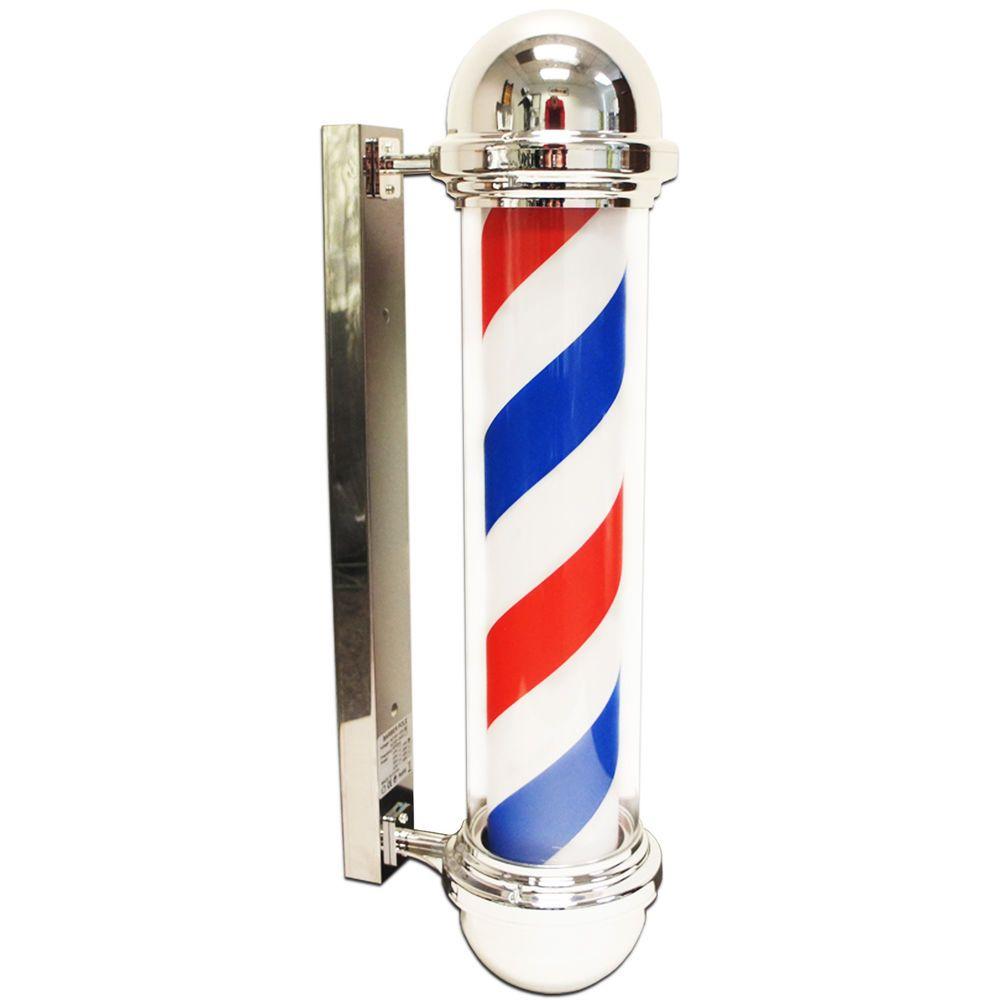 Details about shop pole. Lights clipart barber
