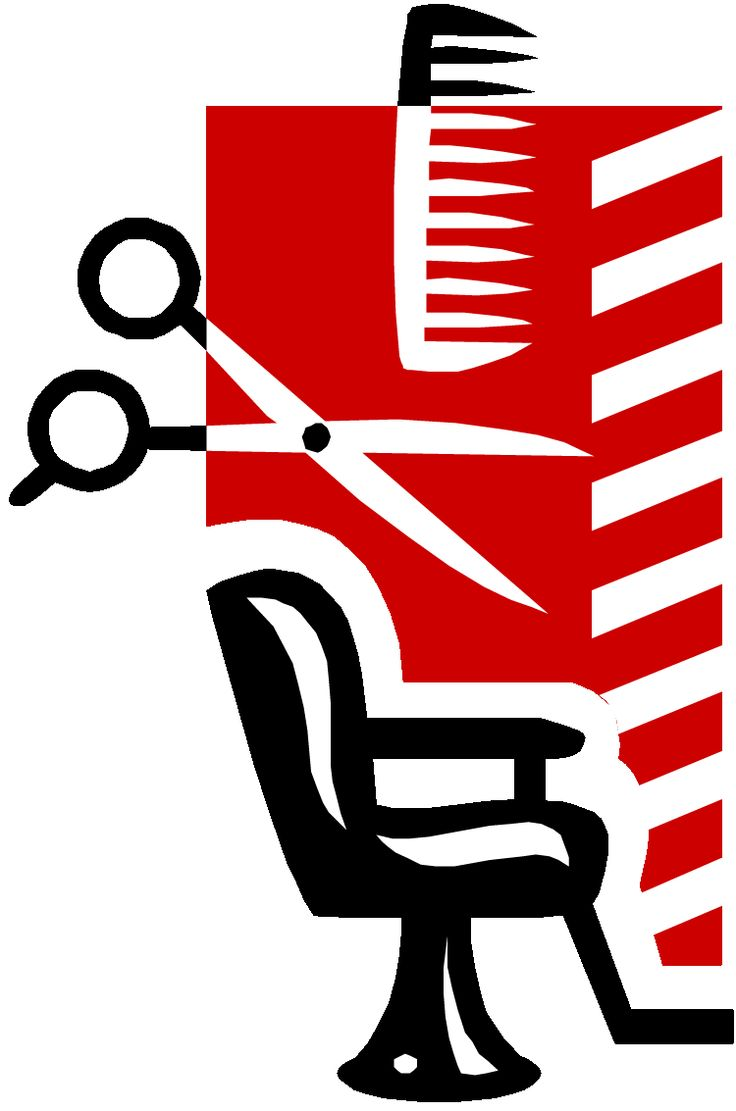 collection of shop. Barber clipart logo