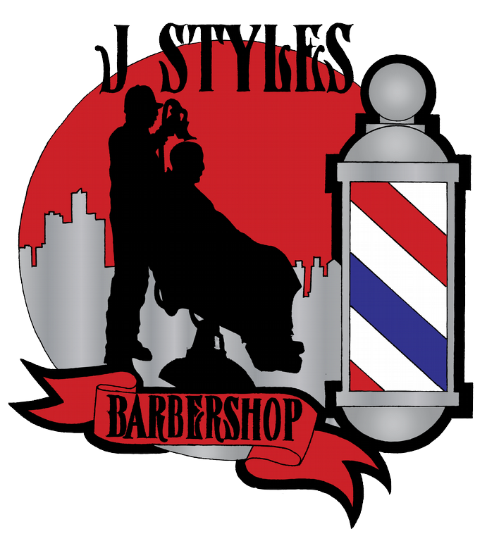 Barber clipart logo. Jstyles from j styles