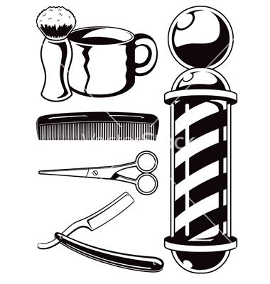 Shop . Barber clipart logo