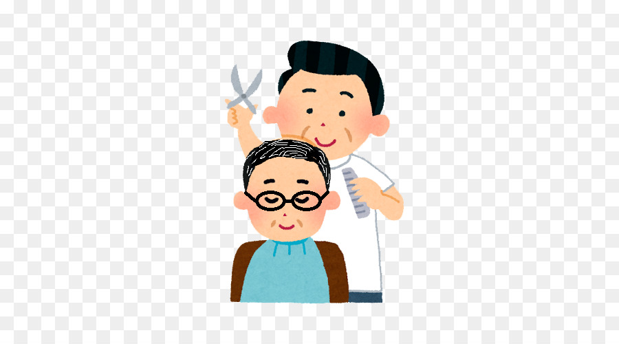 Beauty parlour hairdressing png. Barber clipart male hairdresser