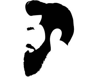 Barber clipart male hairdresser. Barbershop party etsy beard