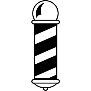 Pole vector best pinterest. Lights clipart barber