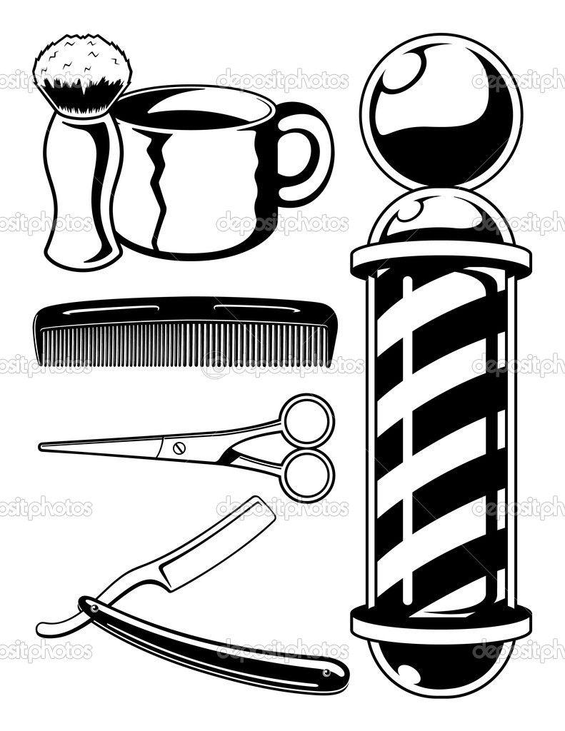 Barber sketch